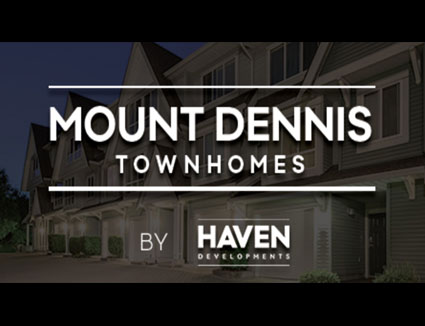 Mount Dennis Townhomes Title Image